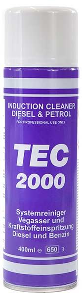 TEC 2000 Preparat do czyszczenia układu dolotowego - Induction Cleaner