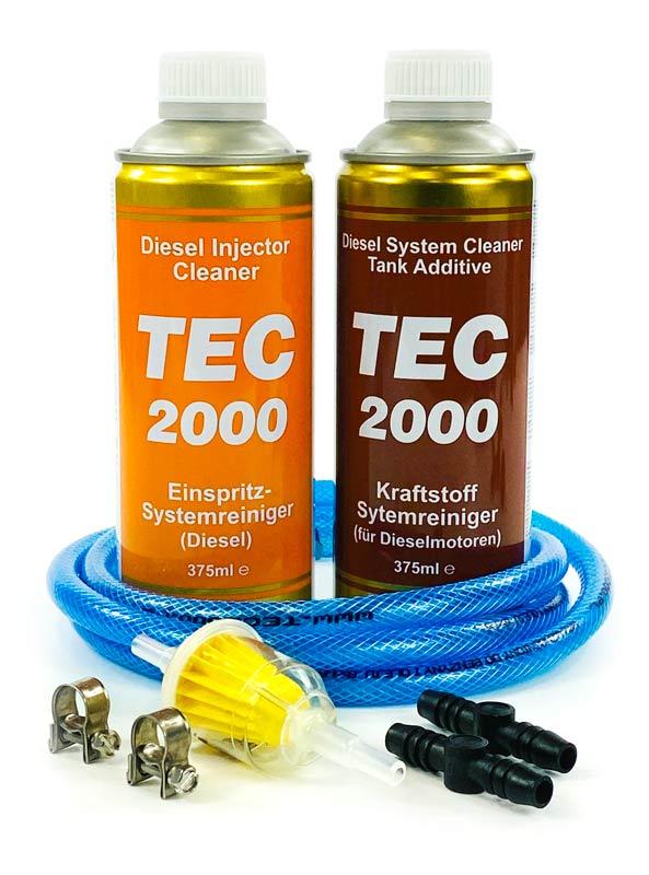 Zestaw 8 mm + TEC 2000 Diesel Injector Cleaner + TEC 2000 Diesel System Cleaner
