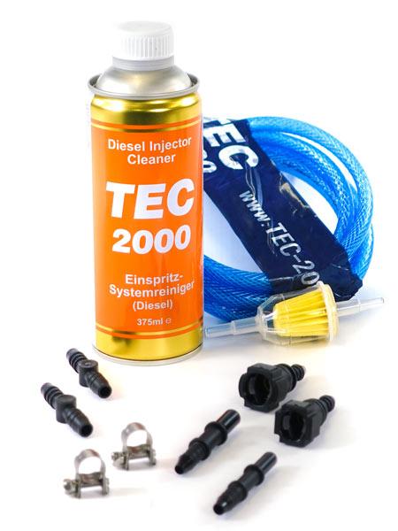 Zestaw uniwersalny + TEC 2000 Diesel Injector Cleaner