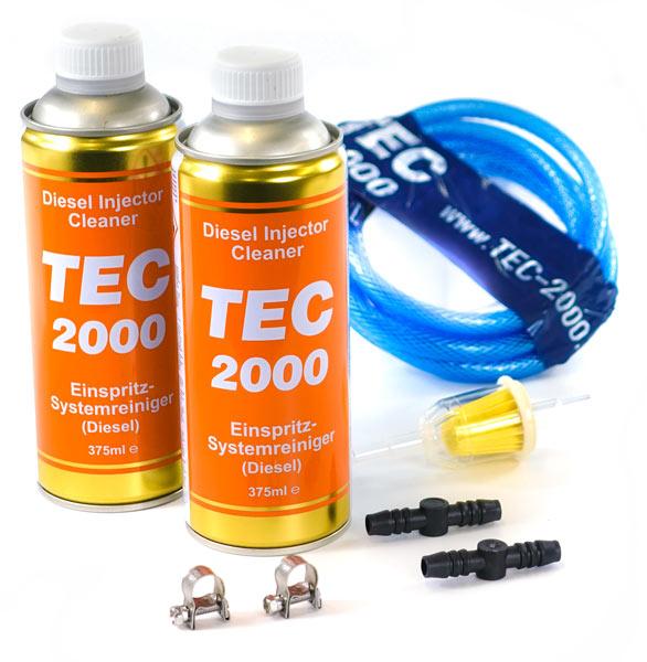 Zestaw 8 mm + 2x TEC 2000 Diesel Injector Cleaner