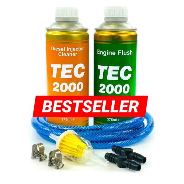 Zestaw 8 mm + TEC 2000 Diesel Injector Cleaner + Engine Flush